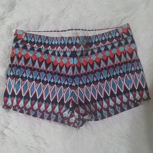 J. CREW Stretch Colorful Shorts 10